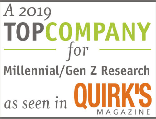 A 2019 Top Company for Millennial / Gen Z Research